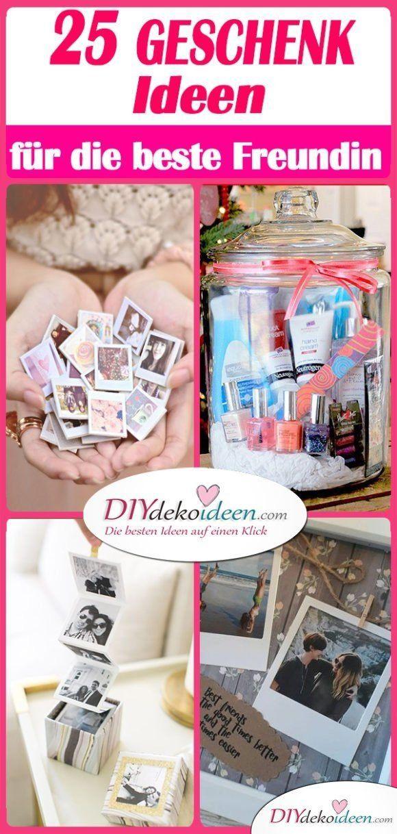DIY Geschenk für beste Freundin selber machen - die 25 besten Geschenkideen für Frauen selber machen #bdayideas