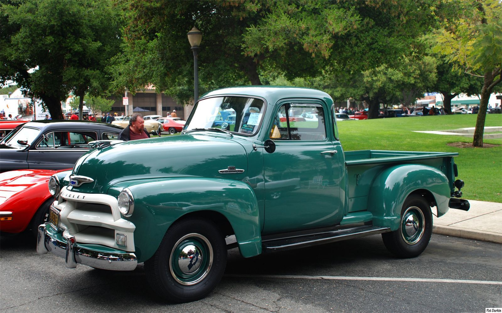 1955 Chevrolet 3100 Pickup First Series Michelle And I Fought