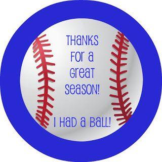 Lavender Clouds Free Baseball Thank You Printable Team Mom Baseball Baseball Coach Gifts Baseball Coach