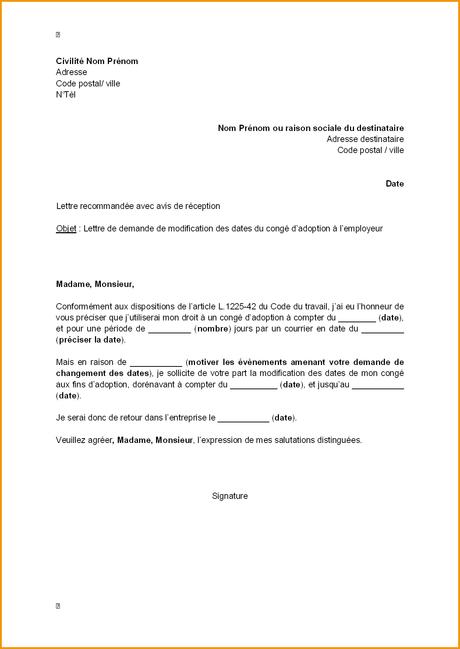 courrier administratif