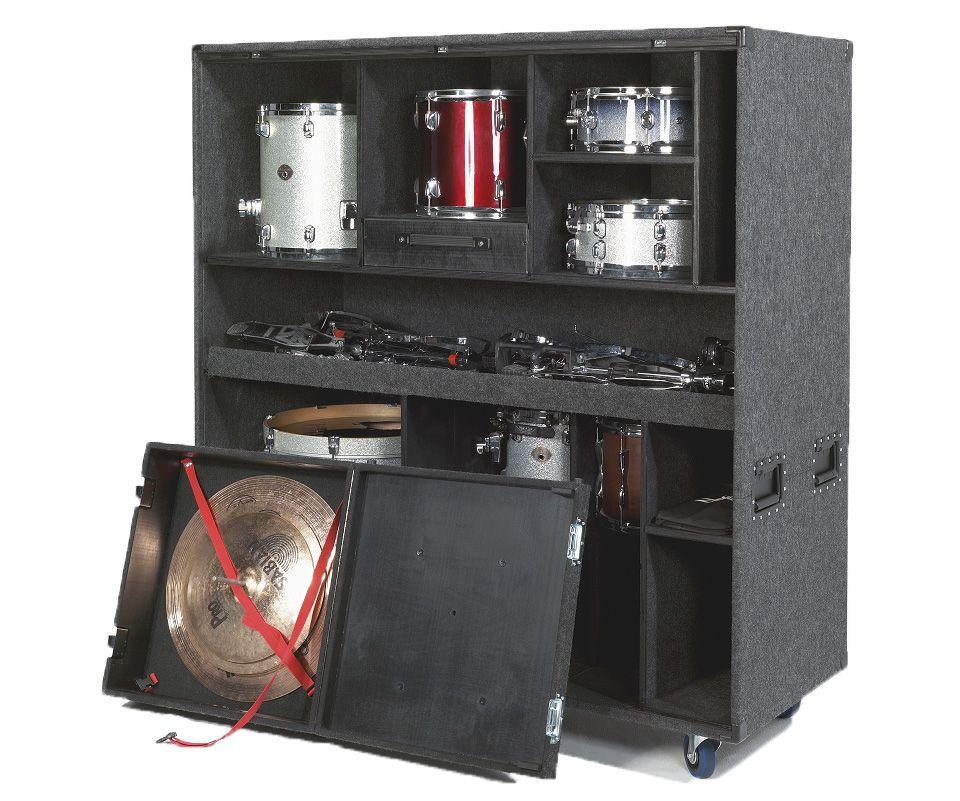 Ultracase Drum Vault Drum Room Storage Music Storage