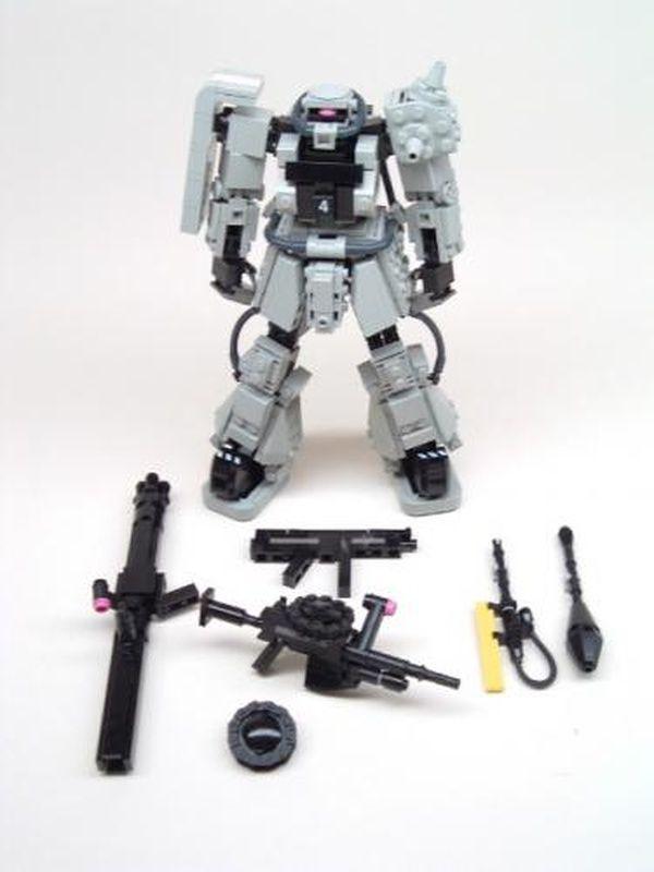 Zaku Mech   Lego Mechs