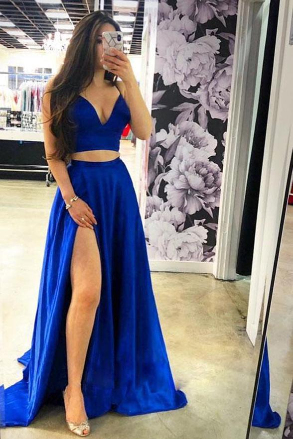 50+ Navy blue 2 piece prom dress ideas in 2021