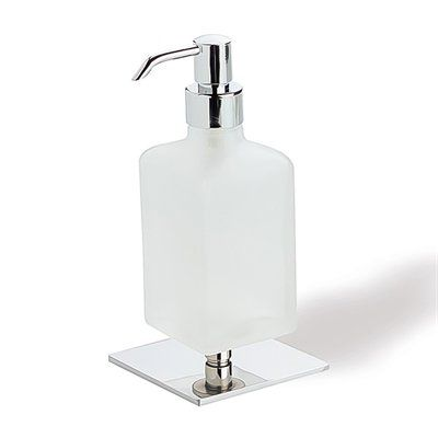 Nameeks Q30AP-08 Quid Frosted Glass Soap Dispenser, Chrome ...