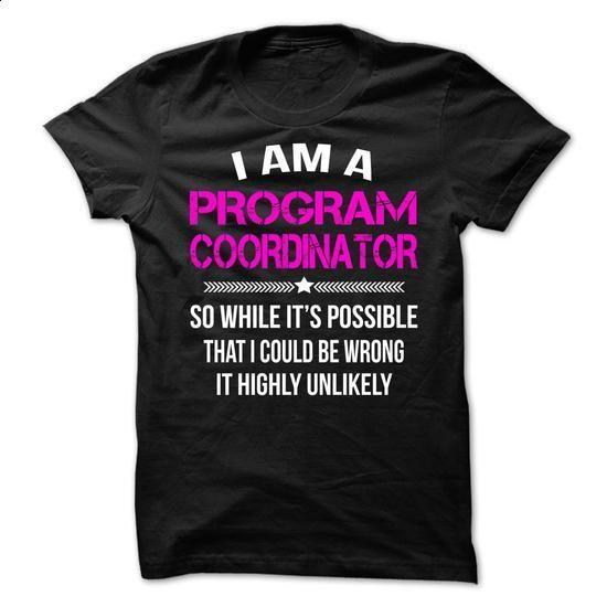 Program Coordinator  - #polo shirt #designer t shirts. MORE INFO => https://www.sunfrog.com/LifeStyle/Program-Coordinator--65816652-Guys.html?60505