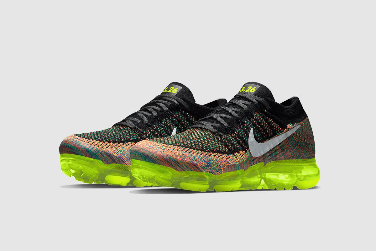 Nike VaporMax: Customize Yours With NIKEiD on March 26