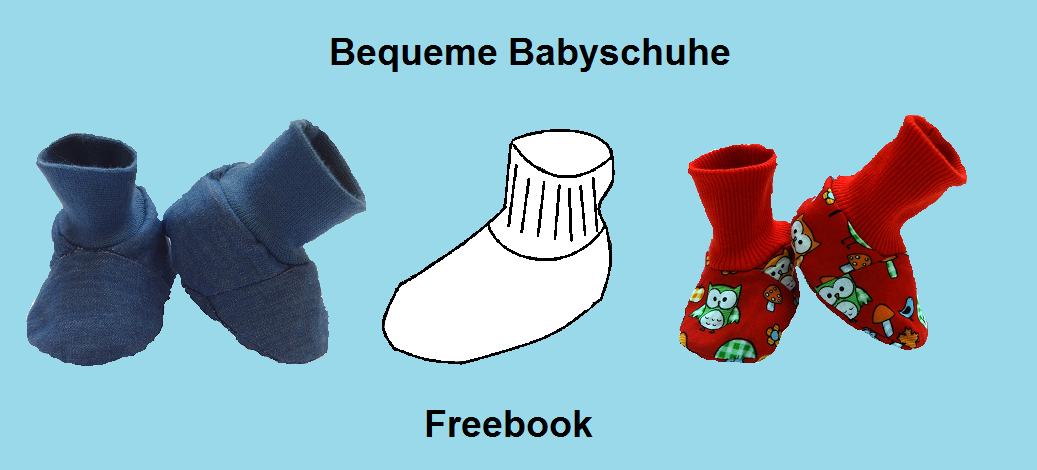 Tutorial Schnittmuster Anleitung Babyschuh | Sewing for Babys - Free ...