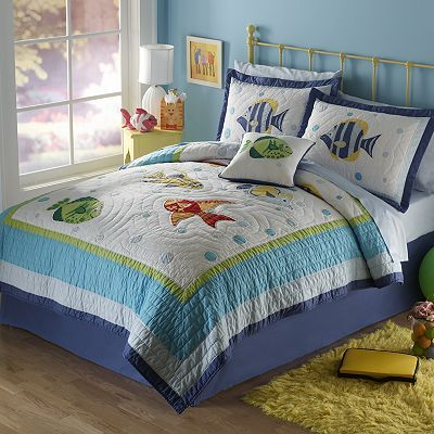 Teen Nautical Bed Set Found At Kohls Pem America Colorful Sea Quilt