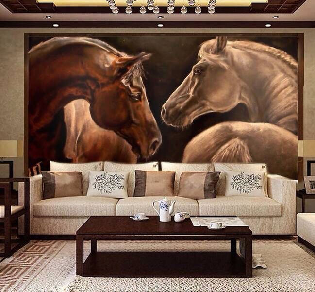 Pin by Casey Mccoy on Home Horse mural, Horse wall art