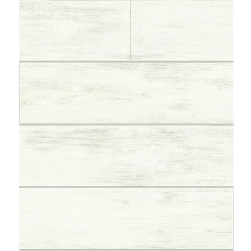 York Wallcoverings MH1560 56 Square Foot - Shiplap by Joanna Gaines - Pre-Pasted Wall Coverings Wallpaper NULL