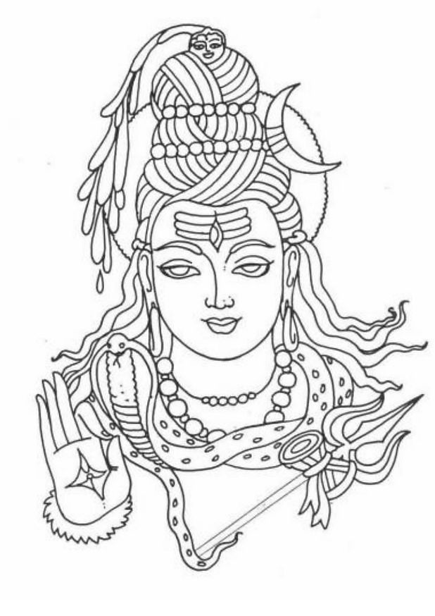 Coloring Book Page In 2021 Lord Ganesha Paintings Hindu Art Lord Shiva Painting Check the latest easy drawing for kids step by step animals, learn drawing for kids, simple drawings for kids to copy, how to draw cute animals with these detailed lesson schemes, you can easily and simply draw a wonderful cat, rabbit, piglet, kitten, dog and other animals in a few seconds. hindu art lord shiva painting