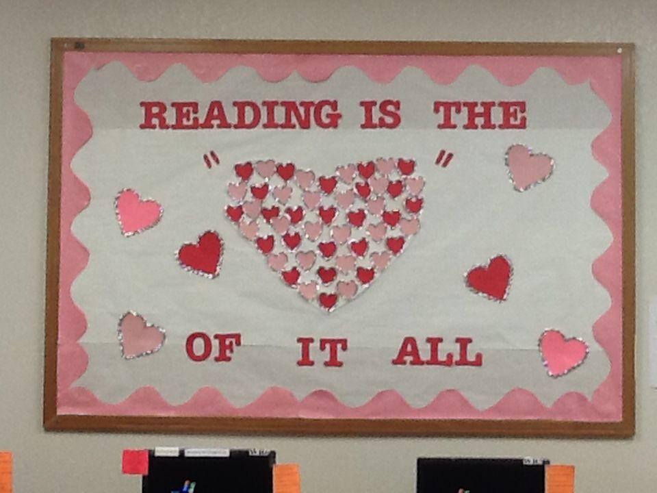 Valentine S Bulletin Board Idea Thirdgradetroop Com Pinterest