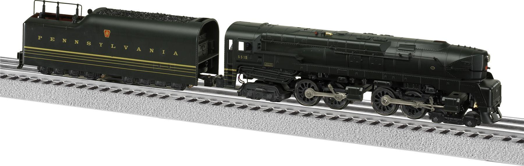 Pennsylvania LionMaster LEGACY 4-4-4-4 T-1 Duplex #5511   Legacy. Duplex. Model trains