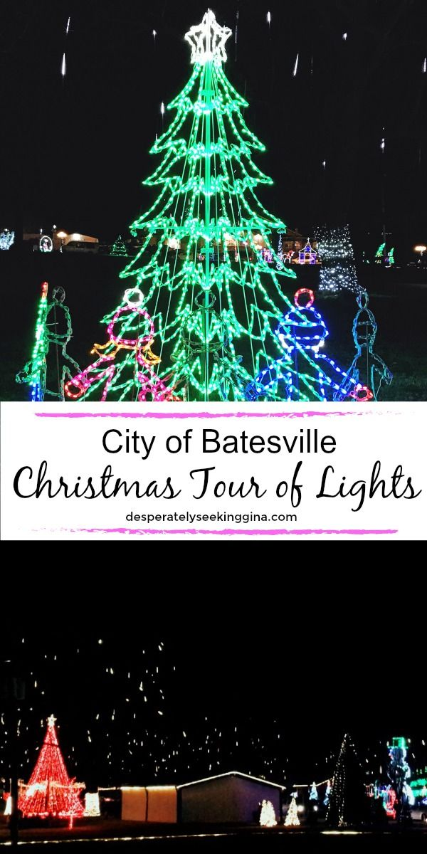 City of Batesville Christmas Tour of Lights Christmas