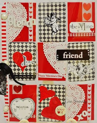 Adventures in Paperland: Outgoing Valentine Pocket Letters
