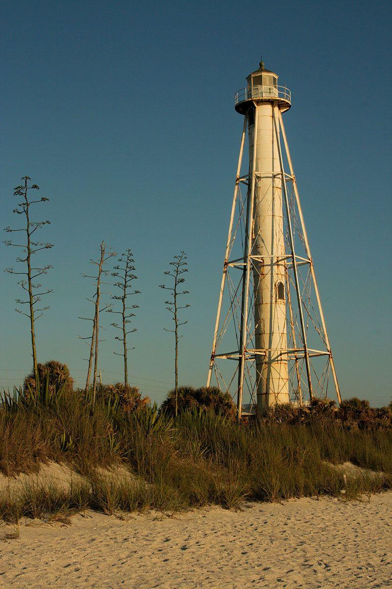 Range lighthouse on Gasparilla Island / Boca Grande # ...
