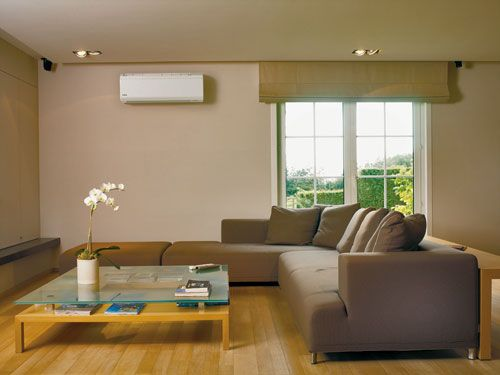 Ductless Heat Pump For Energy Efficiency Home Air Conditioner