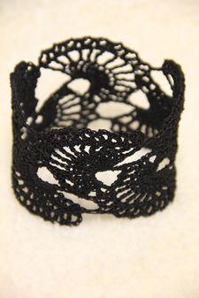Crochet Bracelet Arm Cuff Mrs. V's Crochet
