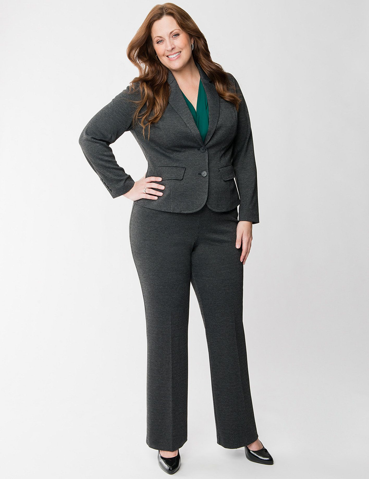 a5f4b43d1b70 Lane Bryant...grey suit | I wish I had style... in 2019 | Plus size ...