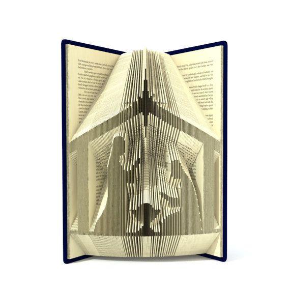 Il libro pieghevole modello consente la cartella creare for Come creare i miei progetti personali