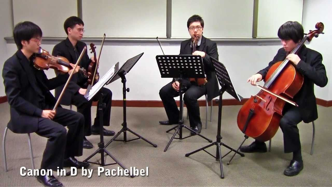 Canon In D By Pachelbel Singapore String Quartet Pre Ceremony Music