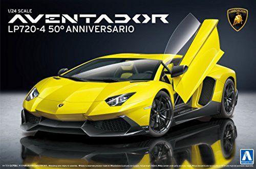 1/24 Super Car Series No.17 Lamborghini Aventador LP720-4 50 Anibasario edition  $41.09 (as of November 30, 2016, 5:04 am)