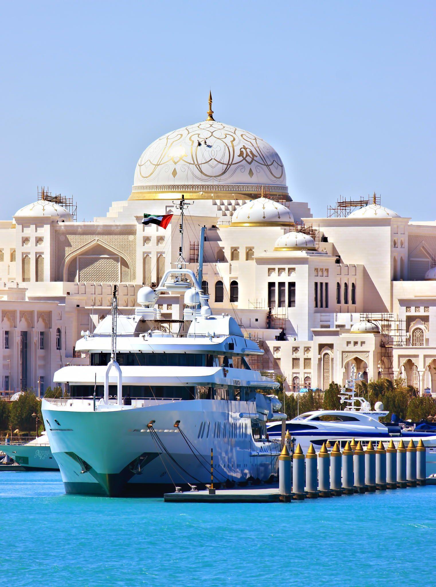 Yacht ( MY ABU DHABI ) by Ahmed Al Shamsi