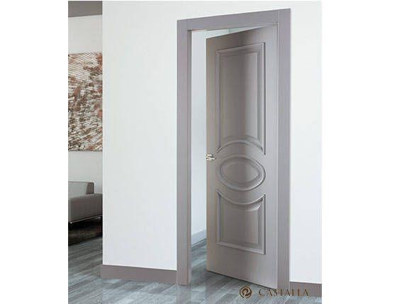 Serie carpintera puerta interior violin puertas for Puerta interior gris