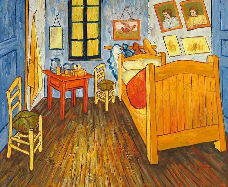 Vincent Van Gogh The Bedroom Catrina Razvan Personas