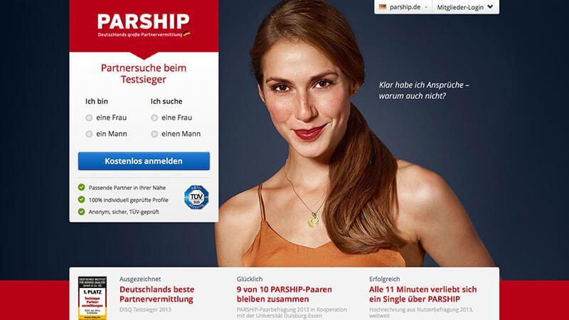 Partnersuche parship ? beste online-partnervermittlung disq 2020