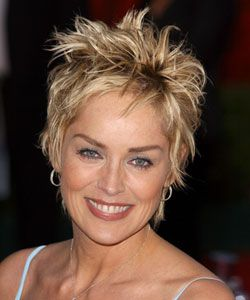 Sharon Stone Short Hair Style G Very Short Styled Final