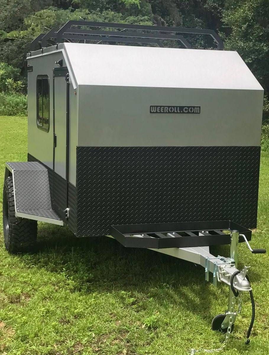 Affordable Campers Lightweight Campers Mini Campers Small Tow Behind Campers Diy Campers Wee Roll In 2020 Mini Camper Lightweight Campers Lightweight Travel Trailers