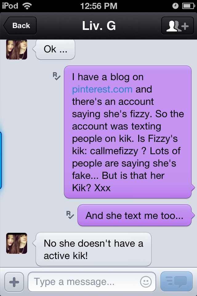 Real people on kik