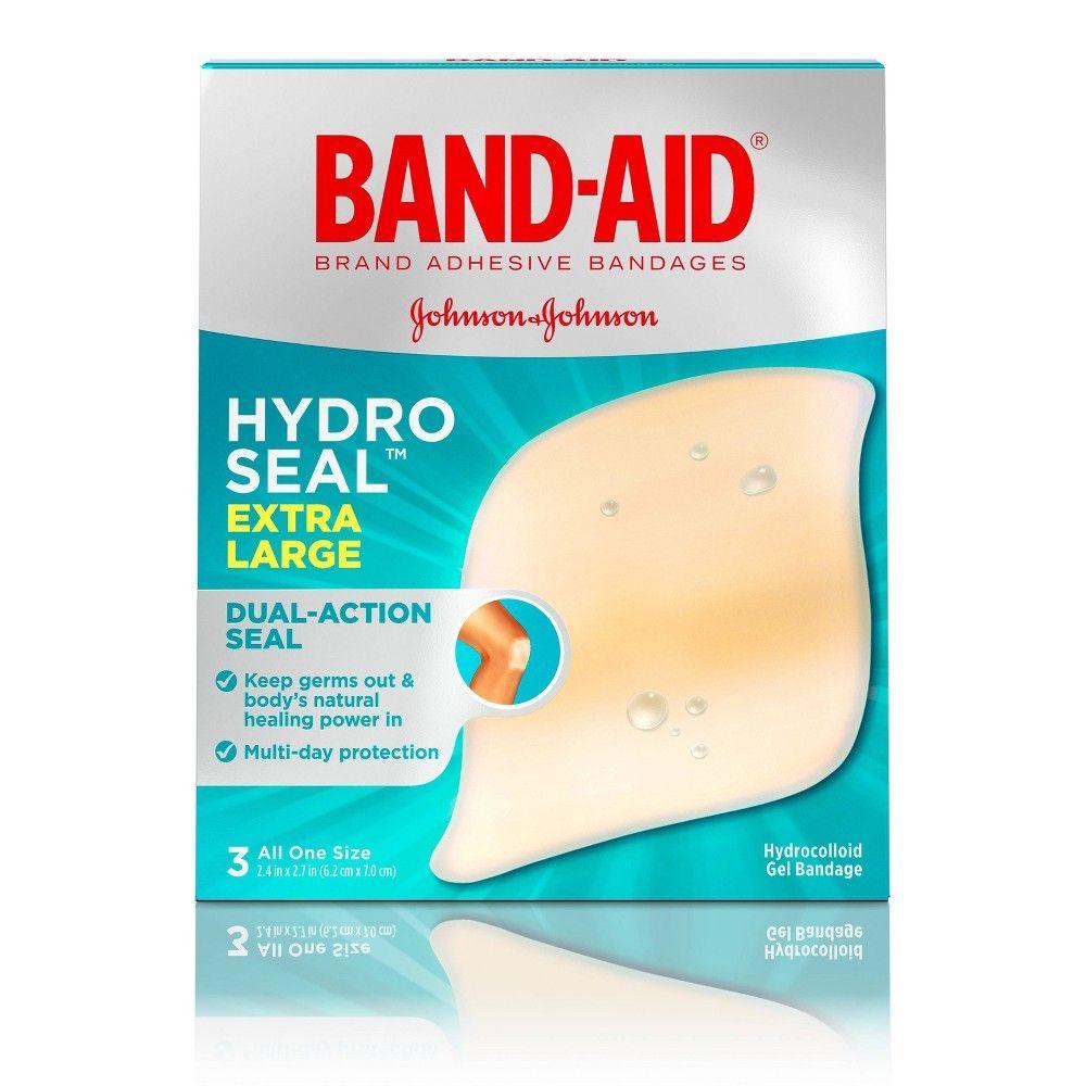 Band Aid Brand Hydro Seal Extra Large Adhesive Bandages 3ct Band Aid Skin Tag Bandage