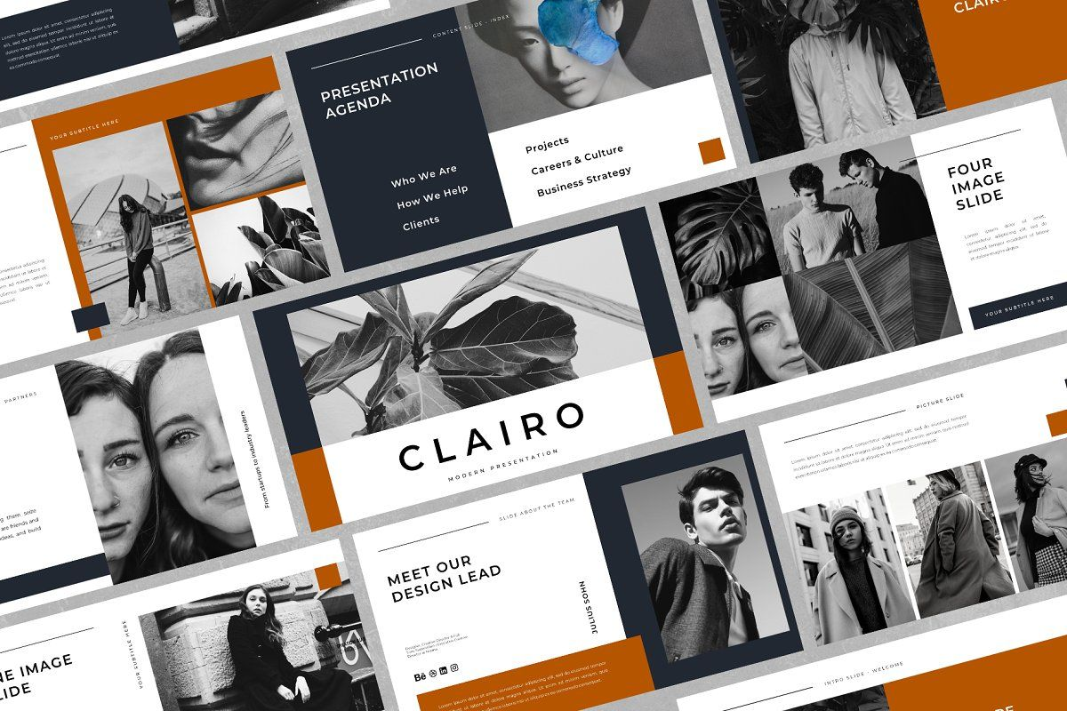 Clairo Keynote Template