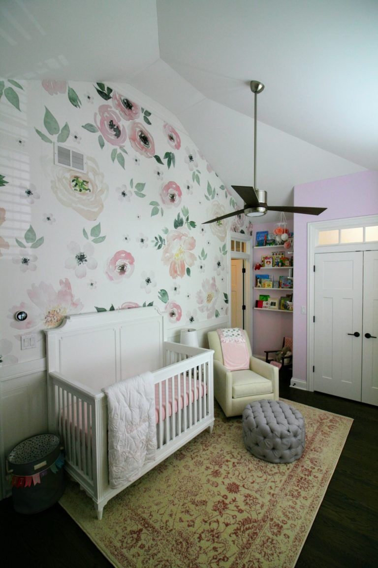 Bright and Whimsical Nursery for Colette Girl room