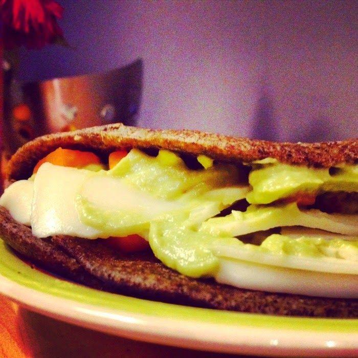 Dieta das Princesas: Wrap de trigo sarraceno com guacamole