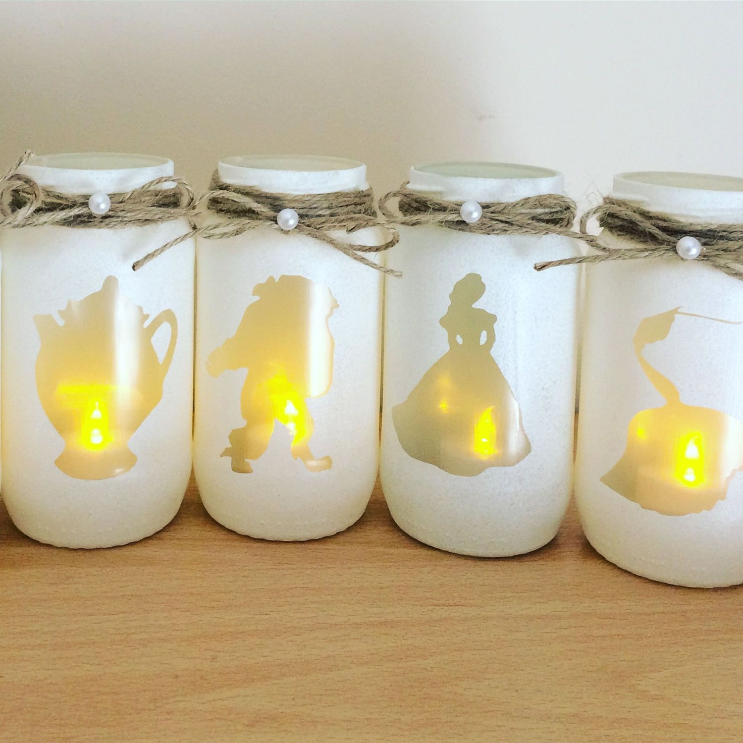 Beauty And The Beast Lantern Characters Belle Beast Candle Stick
