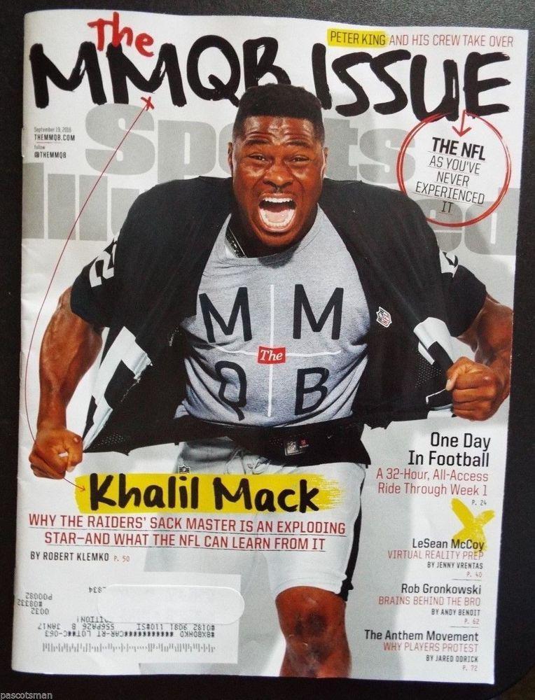 SPORTS ILLUSTRATED 9/19/16 The MMQB Issue Khalil Mack