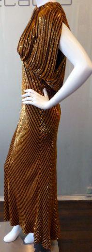 Bob Mackie - Créateur de Mode - Robe de Soirée 'Effet Manches Ballon''
