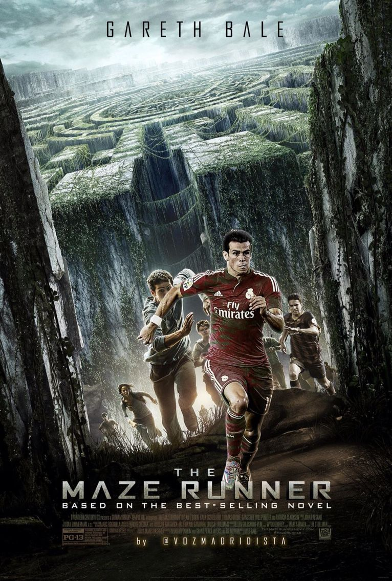 Gareth Bale Y Marc Bartra En The Maze Runner Maze Runner Movie