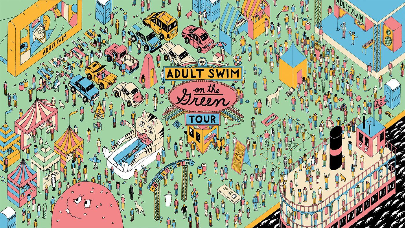 Read adult swim for free