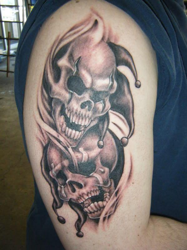 Resultado De Imagen Para Tatuajes Para El Brazo Skull Sleeve Tattoos Tattoo Designs Men Tattoos For Guys