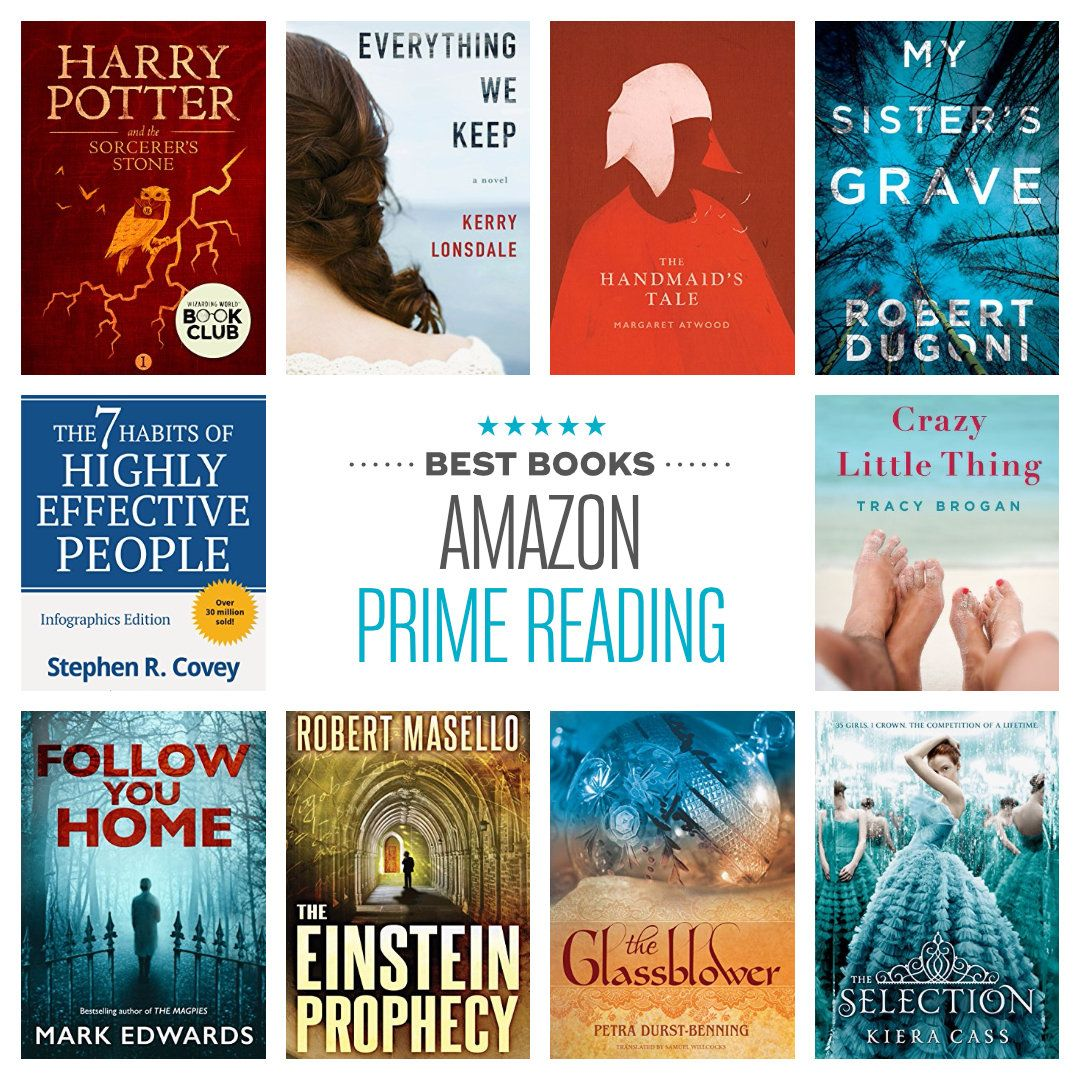Here Are The Best Books You Can Find On Amazon Prime Reading