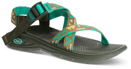 d9c77200a741 Chaco Women s Z Volv Sandals Picnic Green 12