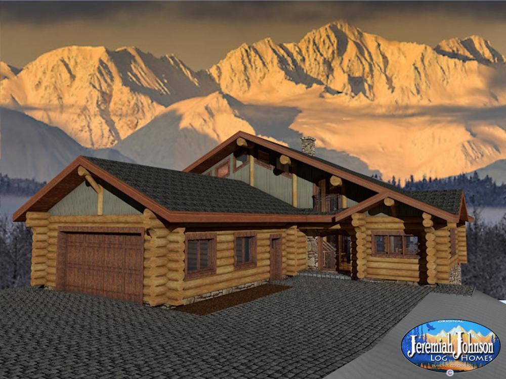 The Golden Eagle Jeremiah Johnson Custom Log Homes
