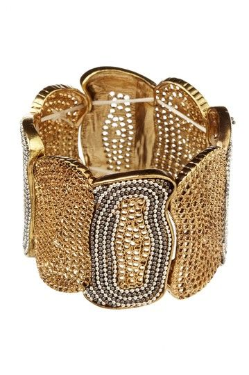 Jewelry by Felicia  Mesh Beauty Stretch Bracelet