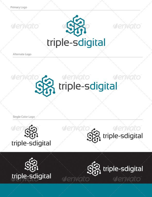Triple-s Logo Design - Let 01 | S logo