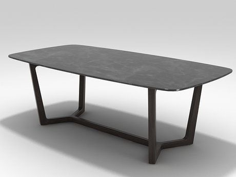 Poliform Concorde Table 3d Model Emmanuel Gallina Dining Table Marble Dining Room Table Marble Furniture Dining Table