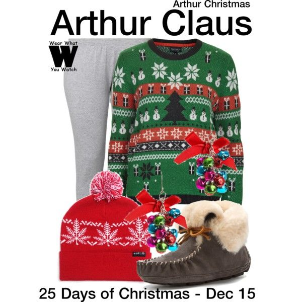 Inspired by James McAvoy (voice) as Arthur Claus in the 2011 animated film Arthur Christmas.